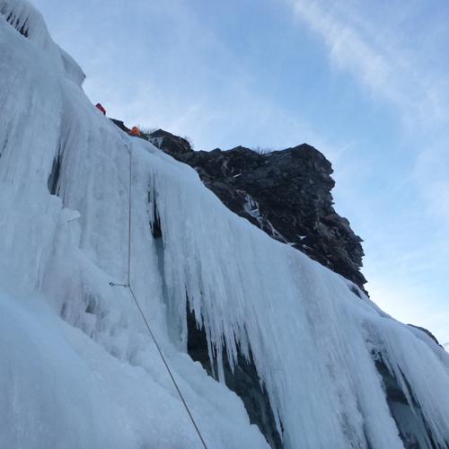 Ice climbing day