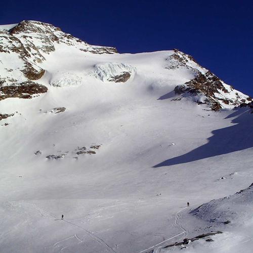 Punta Giordani (4050m) da Indren