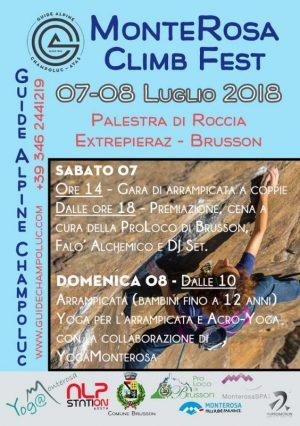 Climb Fest – Estate 2018